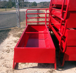 cattle bunk feeder