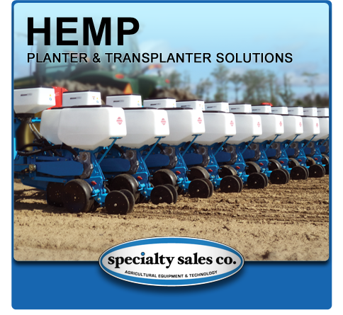 Hemp Planter and Transplanter Solutions