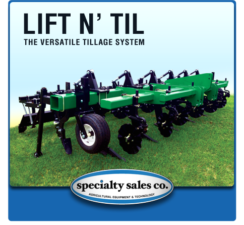 Lift 'N Til Tillage Equipment